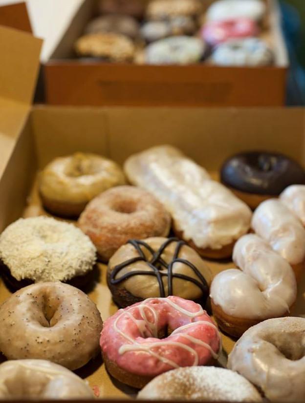 Mixed-Dozen-Donuts-with-Long-John-Maple-Glazed-Donut-from-Mighty-O-Donuts