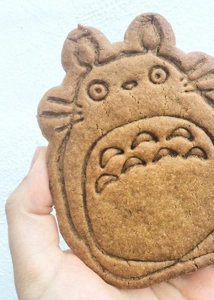 Totoro Masala Molasses Cookie | Donuts + Bolts